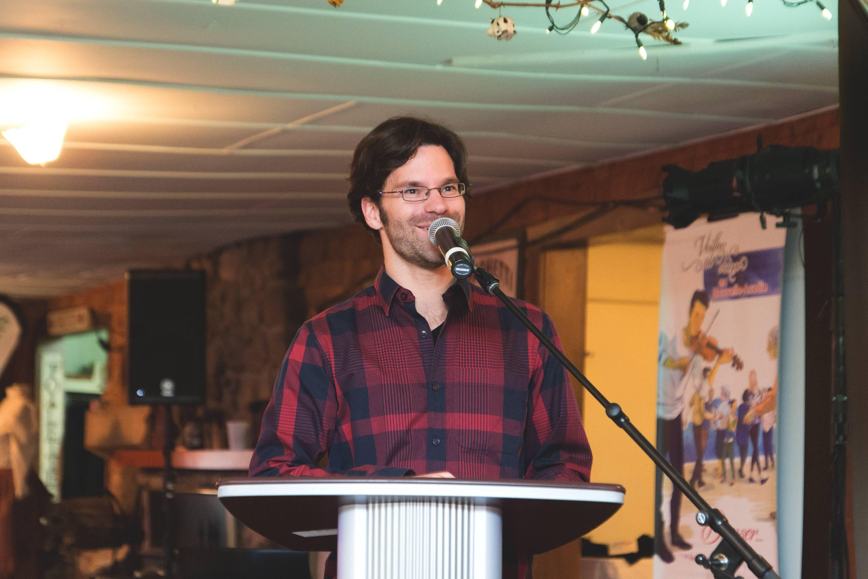 Philippe Jetté, président de l'organisme Les Petits Pas Jacadiens.