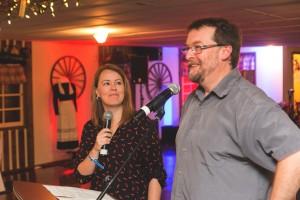 Isabelle Froment et Benoit Parent lors de la présentation des faits marquants des PPJ.