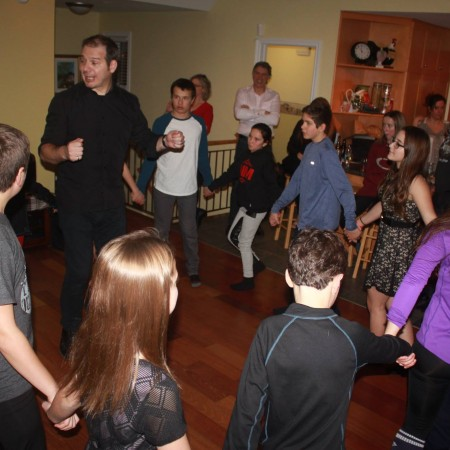 Atelier de danse et gigue au Festitrad Famille