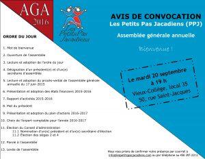 Avis convocation AGA 2016